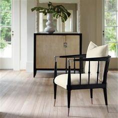 Caracole Wood Frame Chair @ de Grimme Gallery - Suite 72 in Michigan Design Center Muebles Caracole, Caracole Furniture, Large Furniture, Quality Furniture, Furniture Design, Sofa Design, Painted Furniture, Interior Design, Windsor
