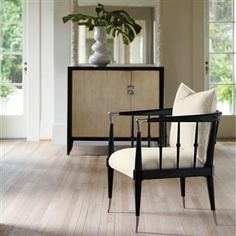 Black Beauty : Caracole Upholstery : Chairs : uph-chawoo-54B   Caracole Furniture