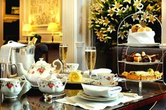 AFTERNON TEA AT THE STAFFORD, LONDON