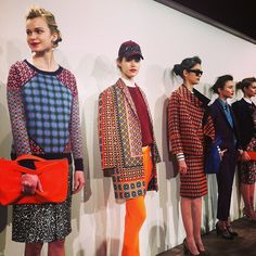 bright colors @J.Crew fall 2013 #fall #fashion #trends digging all the colors! So much fun!