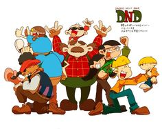 Knd kids and their dads