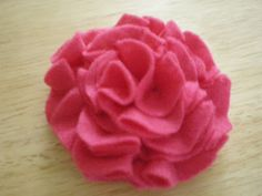 bubsies boutique - baby and kids boutique clothing in Orange County, CA: Ultra EASY Felt Flower Tutorial