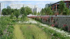 SAINT-OUEN / Parc de la ZAC des Docks