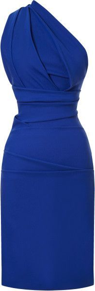 Perfect for a summer night out in cobalt blue