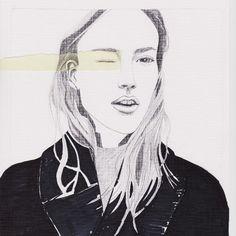 Fashion illustration // Rocio Vigne