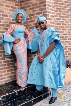 African fashion for men has come a long way. Today, we have a wide selection of amazing African clothing for men that are available in different designs, colors, styles, and fabrics. Nigerian Wedding Dresses Traditional, Traditional Wedding Attire, African Traditional Wedding, African Traditional Dresses, Traditional Outfits, African Lace Dresses, Latest African Fashion Dresses, African Print Fashion, Ankara Fashion