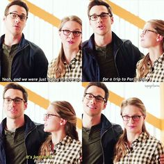 They don't even need to act like a couple #karamel #Supergirl