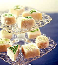 Lemon Tea Cakes. Decorate these elegant little cakes to suit the occasion--pink for Valentine's Day, pastel hues for Easter, wedding colors for a shower.