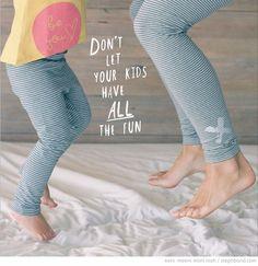 Bondville: eeni meeni miini moh yoga leggings for adults
