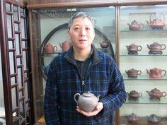 L'œuvre de M Zhang reflète toute l'expertise artisanale de la fabrication traditionnelle des théières...
