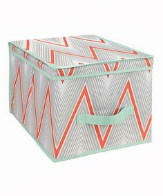 Love this The MacBeth Collection Coral Cici Storage Box by The MacBeth Collection on #zulily! #zulilyfinds