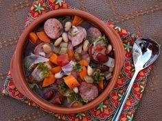 polish sausage beans, carrots, kale weight-watchers soup