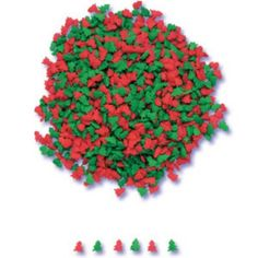 Red and Green Colored Christmas Tree shaped Cookie and Cupcake Sprinkles 1 oz Christmas Themed Cake, Christmas Tree Cookies, Christmas Themes, Christmas Sprinkles, Tree Shapes, Shaped Cookie, Green Christmas, Themed Cakes, Green Colors