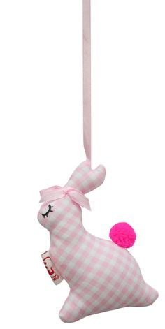 Doorhanger/ kasthanger bird @fabsworld  #doorhanger #kasthanger #fabs world #gingham #ruitjes #rabbit #decorationideas #babyroom #inspiration #kidsroom #fabsstore  shop: fabsstore.com (shop worldwide)