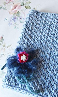 Alaska - Hand Crocheted Cowl - Infinity Scarf - Ready To Ship by KatyaCrochetNest on Etsy