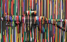 11-year-old Charles Gitnick wows Miami Art Basel with gun art with a message -- that gun violence is terrifying to him and he wishes guns would remain in art galleries alone rather than on the streets.