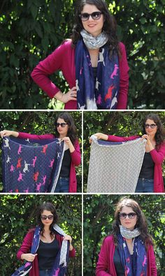 34cd1c512d49f 423 Best How to wear scarves images in 2019 | Scarves, Tie a scarf ...