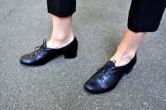 Vienna Oxford Pumps Womens Oxfords Casual Shoes Black