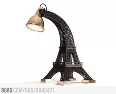 Eiffel Tower Lamp