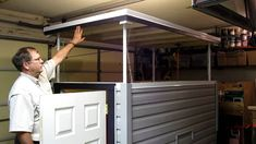 Homebuilt Pop-up roof lift system | Timber Trails: Turnkey tiny house, cabin kits, and custom cottage designs built of super-efficient, affordable, and easy-to-finish structural insulated panels (SIPs). Go to >> TimberTrails.TV