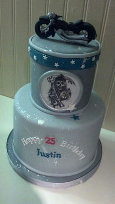 Sons of Anarchy Cake