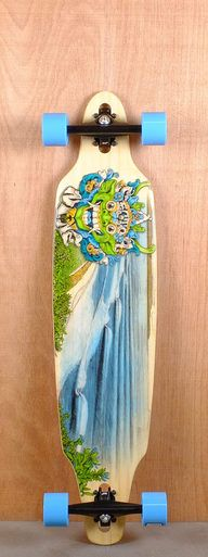 """The Sector 9 41"""" Lookout is designed for carving and cruising."""