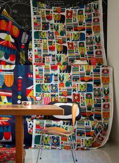A/W 2014 Marimekko Marimekko, Home Collections, Fiber Art, Texture, Paper, Fall, Life, Fabrics, Patterns