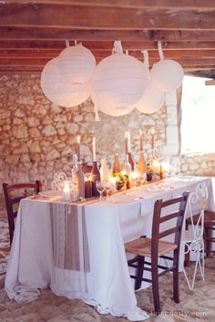 French Rustic Chic Wedding Inspiration
