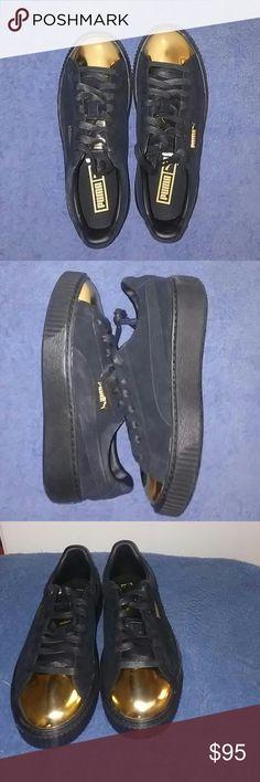 3e514fedd4b Puma Rihanna Creeper Size 8 (Women) Puma sneaker Rihanna Creeper Size 8  Black