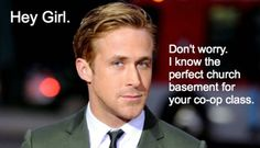 Hey Girl homeschool... Don't worry. I know the perfect church basement for your co-op class.
