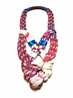 NEON JEWEJRY | Neon Zinn Rope Jewelry by Seth Damm in style fashion Category