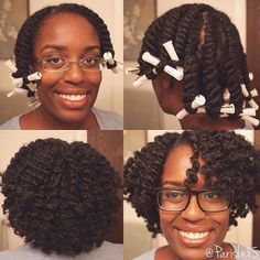 hair2mesmerize:   @parisin85 Posting a video soon showing my flat twist out. I used perm rods for this flat twist out, unlike the one in my video. Took me back to when I had to use them because I had heat damaged straight hair.  #Hair2mesmerize #naturalhair #healthyhair