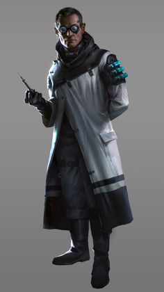 male human street doc; shadowrun