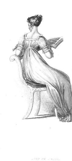 Regency Fashion: Morning and Evening Dresses