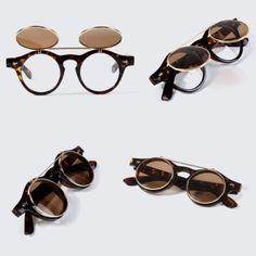 c5db61d7d4 Optics Museum Women Men Sunglass Clip-on Sunglasses Vintage Fashion Eyewear for  sale online | eBay