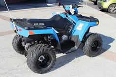 New 2017 Polaris Sportsman 110 EFI Velocity Blue ATVs For Sale in Nevada. 2017 Polaris Sportsman 110 EFI Velocity Blue, 2017 Polaris® Sportsman® 110 EFI Velocity Blue <ul><li>For riders 10 years old and older with adult supervision</li></ul><ul><li>Parent-adjustable speed limiter</li></ul><ul><li>Electronic Fuel Injected (EFI) 112 cc Engine</li></ul><p> Features may include: </p> YOUTH <ul><li>ALL NEW! Colors & Graphics</li></ul><p>Check out the All NEW! Colors on Outlaw, Sportsman®, and…