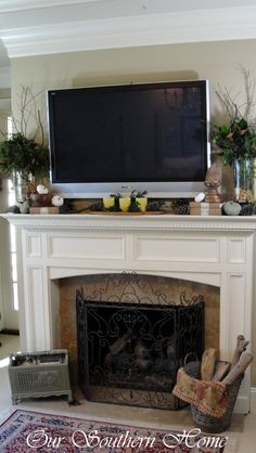 How to Create a Fall Vignette - Our Southern Home