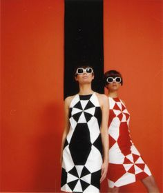 Red / Black. Sixties.