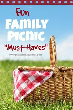 "Who loves picnics? I do! I do! Check out these fun family picnic ""must-haves"" to make your family's next picnic ahhh-mazing! #ChipLove #ad"
