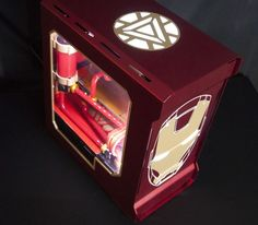 Not sure if this will go over well, But I finished my Iron Man themed Gaming…