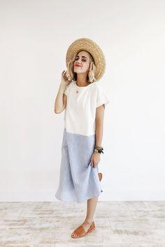 Colorblock Summer Dress | ROOLEE