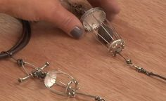 making wire cages by Susan Lenart Kazmer