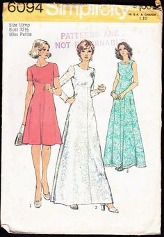 Simplicity 6094 Misses' Petites' and Misses' by OutoftheConex