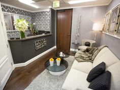 Design Star Season 7: Photo Highlights From Episode 3 : Design Star : Home & Garden Television, Beautiful reception area.