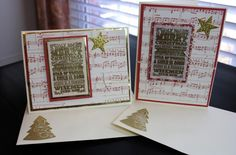 Julie's Journal: Christmas Cards #6 & #7