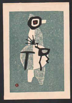 Umetaro Azechi Japanese Woodblock Print | eBay