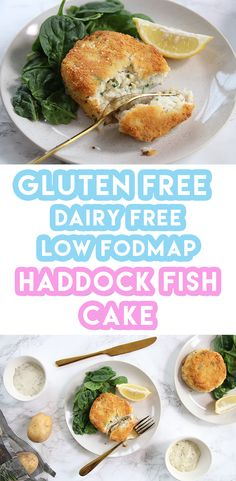 Gluten Free Smoked Haddock Fishcakes Recipe (dairy free & low FODMAP) - Gluten Free Smoked Haddock Fishcakes Recipe (dairy free & low FODMAP) The Effective Pictures We Off - Wheat Free Recipes, Dairy Free Recipes, Dairy Free Haddock Recipes, Vegetarian Recipes, Dairy Free Spread, Lactose Free Diet, Fishcakes, Fodmap Recipes, Fodmap Foods