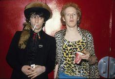 JOHNNY THUNDERS & CHEETAH CHROME - 1978. Backstage CBGB's. - Paul Zone ((THE FAST))