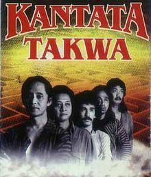 Album Kantata Takwa - Kantata Takwa    Setiawan Djodi, JSOP, Iwan Fals, Sawung Jabo, W.S Rendra   1990