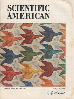 Cover painting by Mary Russel See more Scientific American covers here Scientific American Magazine, Design Art, Logo Design, Men Of Letters, Flying Geese, Science News, Color Theory, Cool, Editorial Design